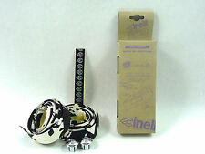 Cinelli handlebar tape white black cork swirl splash colors vintage bike NOS