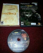 SOCOM 3: U.S. Navy SEALs Sony PS 2 Used in good condition