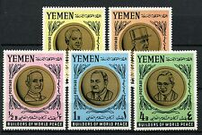 Yemen 1966 SG#R146-R151 Builders Of World Peace MNH Set #A59121