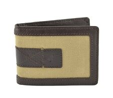 Tommy Bahama Bifold Sand & Surf Money Clip Wallet in Khaki/Brown BNWT/Gift Box