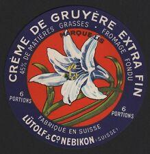Etikett für Käse / Marque Lis - cheese label - étiquette de fromage # 1889