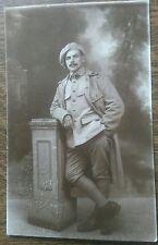 Carte postale ancienne Souvenir de guerre Homme Militaire CPA