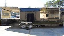 NEW 8.5x26 8.5 X 26 Enclosed Concession Food Vending BBQ Trailer w/ Porch Deck