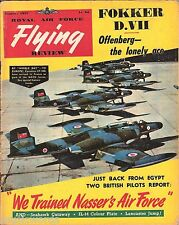 RAF FLYING REVIEW JAN 57: SEA HAWK CUTAWAY/ NATOs CF-100s/ Bv222 VIKING/ IL-12