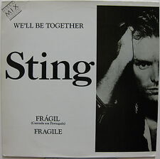 "STING We'll Be Together 1987 BRAZIL Promo Only 12"" Sung in PORTUGESE Police"