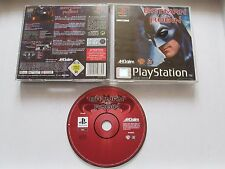 Batman & Robin For Sony Playstation 1 / PS1 No Ins PAL 1998 - Save Gotham!