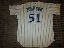 Randy Johnson #51 Arizona Diamondbacks World Series MLB Rawlings Jersey 52