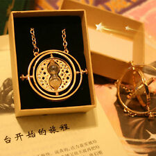 Harry potter time turner clessidra necklace collana giratempo halskette new box