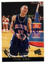 1X MIKE BIBBY 1998 99 Press Pass #45 RC Rookie AUTOGRAPH SIGNED SIGNATURE