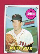 1969 TOPPS BB #109 JIM LONBORG/R. SOX EX/EX+