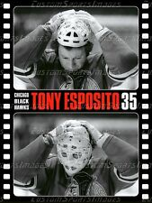 18x24 Goalie Poster - Tony Esposito - Chicago Black Hawks