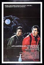 AN AMERICAN WEREWOLF IN LONDON * CineMasterpieces EX-NM UNUSED MOVIE POSTER 1981
