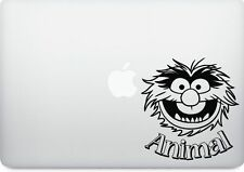The muppets Animal Macbook or laptop decal for all sizes sticker.