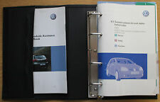 VW Golf V GT R32 Bluemotion Manual Owners Manual Cartera 2003-2008 Pack 12842