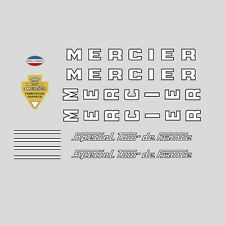 Mercier Special Tour de France Bicycle Frame Stickers - Decals n.0629