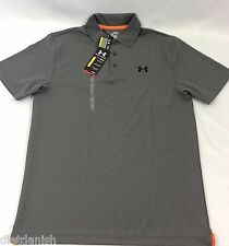 Under Armour MEN'S Athletic Golf Polo Loose Grey Size M