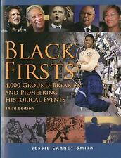 BLACK FIRSTS - NEW PAPERBACK BOOK