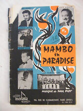 Partition Mambo in Paradise Baby Cha Cha Cha Bennet Ekyan Cavallero  Paul Piot