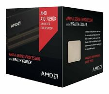 AMD A10 7890K with AMD Wraith cooler Quad-Core Socket FM2+ 95W Desktop Processor