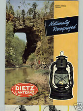 1951 PAPER AD 2 Sided Dietz Lantern D Lite Cold Blast Little Wizard Monarch