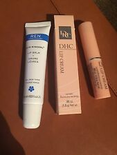 DHC Medicated Lip Care Cream 1.5g & Ren Lip Balm 15ml
