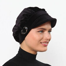 US Seller NEW Women Bonnet Cancer Chemo Hijab Turban Cap Beanie Winter Velvet