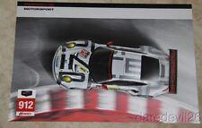 2015 Porsche Motorsport #912 Porsche 911 RSR GTLM Rolex 24/Sebring TUSC postcard