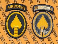 US Special Operations Command Airborne USSOCOM Dress uniform patch m/e