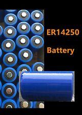 2 piece ER14250 14250 ER3S 1/2AA 3.6V Bulk 1200 mAh Lithium photo battery!