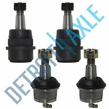 Brand New 4pc Front Lower and Upper Ball Joints Jeep Cherokee Wagoneer Wrangler