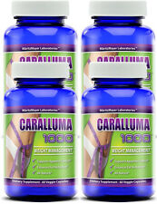 CARALLUMA Fimbriata 1000mg(10:1)RATIO Appetite Suppressant Weight Loss 4 Bottles