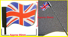 Olympic Gold GB Union Jack Flag Mini Car aerial antenna topper Includes UK P&P