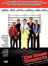 The Usual Suspects (DVD, 1997)