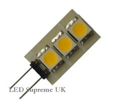 G4 3 LED SMD 12V AC/DC 0.6W 30LM Warm White Bulb ~8W