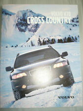 Volvo V70 Cross Country brochure 2000 French text
