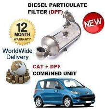 FOR PEUGEOT 1007 1.6HDI 2007-  DIESEL PARTICULATE DPF & CAT CATALYTIC FILTER KIT