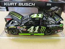 Kurt Busch #41 Monster Energy Chevrolet SS Action 1/24 2016 Free Ship