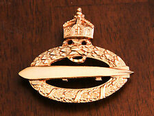 GERMAN WWI NAVY AIRSHIP ZEPPELIN PILOT BADGE