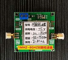 bandwidth 1MHz to 8GHz RF Power Meter Detector Power Detector Radio frequency