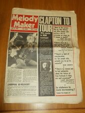 MELODY MAKER JULY 17TH 1976 THIN LIZZY ERIC CLAPTON AEROSMITH HEAVY METAL KIDS
