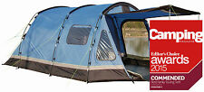 New Family Camping 5 berth Tunnel Tent Festival Holiday Khyam Faro 5   (K120090)