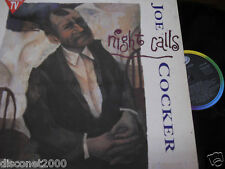"JOE COCKER - Night Calls, LP 12"" SPAIN 1991"