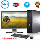 FAST Dell Desktop PC Computer Core 2 Duo 4GB Ram DVD WiFi 19