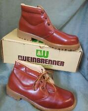 VTG RETRO WEINBRENNER 854 HIKING MOUNTAIN WORK BOOTS CHUKA SHOES NEW OLD 13 W
