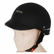 Open Face Habsolite Brand Cap / Helmet for Ladies & Gents Black