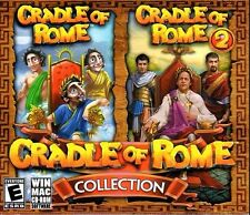 Cradle Of Rome Collection PC Games Windows 10 8 7 XP Computer Game 1 2 gem match