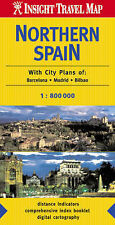 Northern Spain Insight Travel Map, , Good Condition Book, ISBN 9812580174