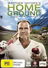 Matthew Hayden's Home Ground (DVD, 2010, 2-Disc Set) New & Sealed