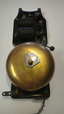 """Vintage 6"""" Brass  Boxing Bell, Firehouse Alarm 1900'S MECHANICAL & ELECTRIC"""