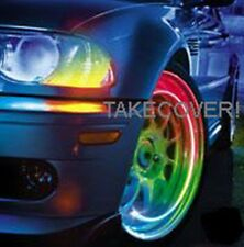 MULTI-COLOR LED TYRE LIGHTS TIRE WHEEL VALVE STEM CAP LIGHT